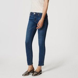 Ann Taylor LOFT Modern Slim Jeans Medium Wash